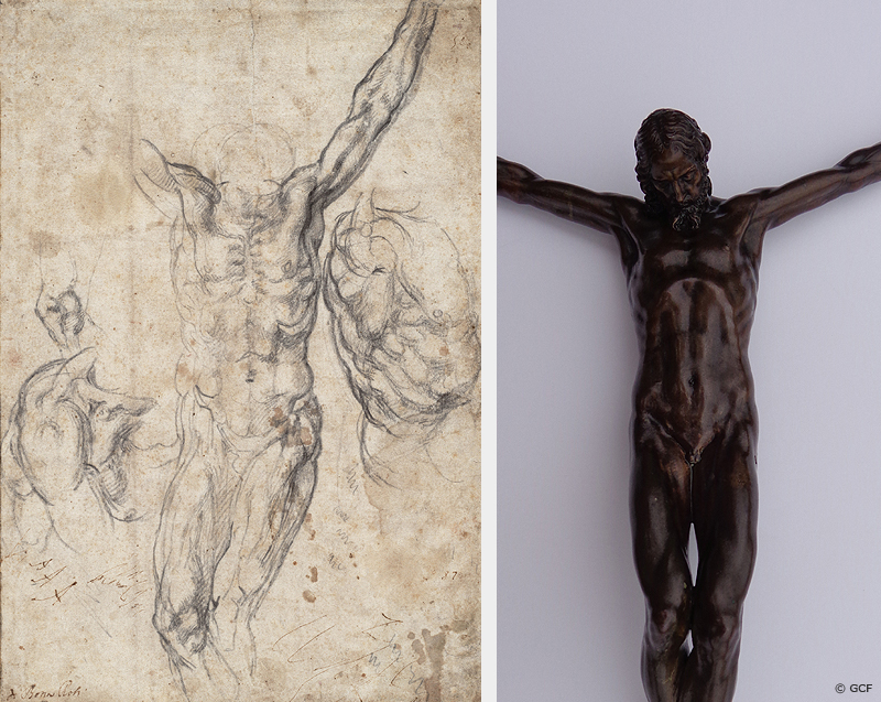 Michelangelo Crucifix