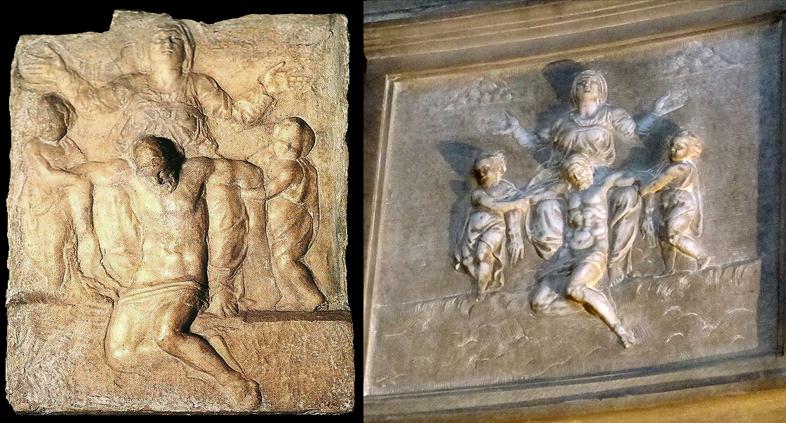 stone-reliefs-after-michelangelo-pieta