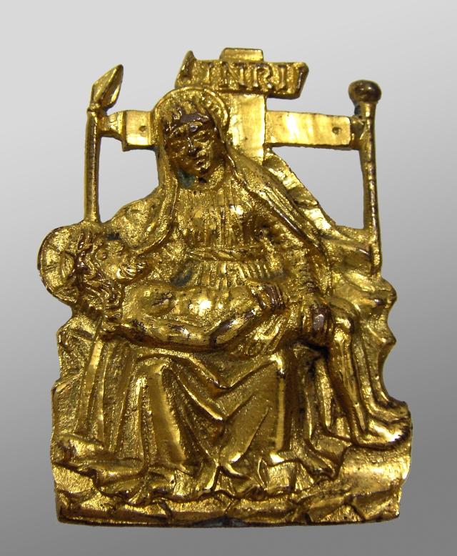 Fig. 13: Pieta applique, Veneto, ca. 1500 (Struble collection)