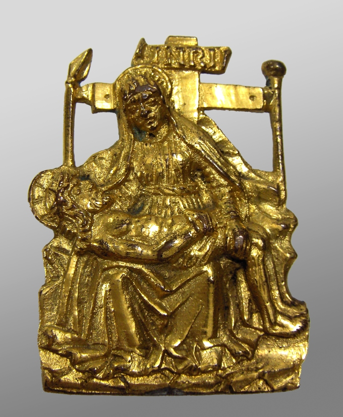 Fig. 13: Pieta applique, Veneto, ca. 1500 (Struble collection)