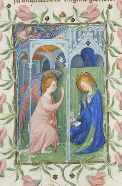 Annunciation - Morgan Library