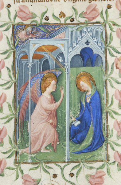 Annunciation - Morgan Library