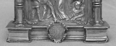 Fig. 08: Detail of a pax for Fernandez Villalán at the Almeria Cathedral, Spain