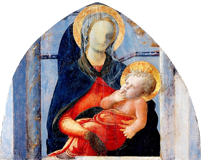 Fig. 14: The Virgin and Child attributed to Filippo Lippi, ca. 1437-38 (Utah Museum of Fine Arts)