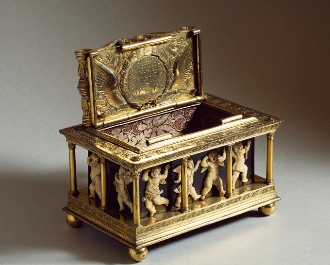 Fig. 20: Reliquary of the Holy Girdle of the Virgin by Maso di Bartolomeo, ca. 1446-48 (Museum of the Works of the Prato Cathedral - Piccoli Grandi Musei)