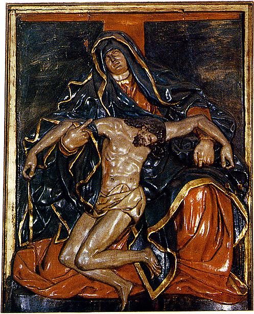 __ Pieta 14 Cathedral of Pamplona _ altarpiece _ 1660 by Domingo de Bidarte
