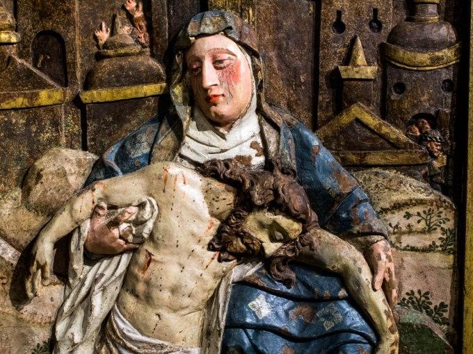 __ Pieta 15 Sacred Art Museum of Igreja dos Clérigos in Portugal - ex Collection of Antonio Manuel Cipriano de Miranda _ 16th-17th cent