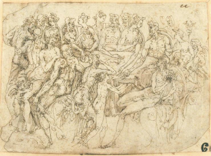 ___ Targone _ Guglielmo sketch at MET
