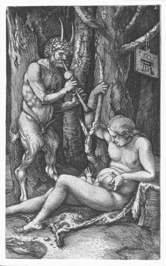 albrecht-durer 1505 _ A Satyr Family