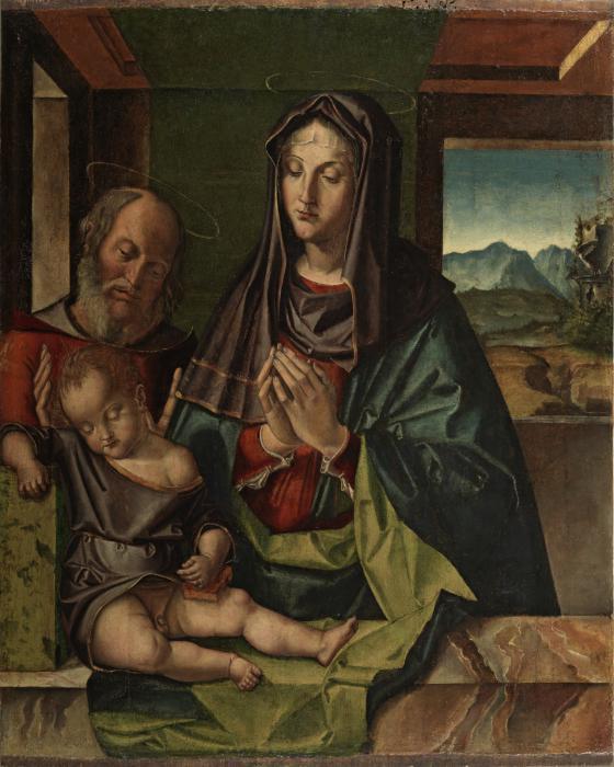 Bartolomeo Montagna _ ca 1500 _ Holy Family