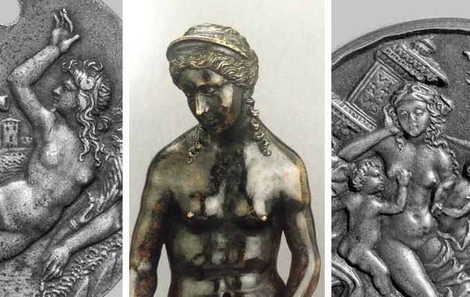 Francesco Raibolini _ Venus _ Bronze _ Ashmolean _ corressponding plaquettes