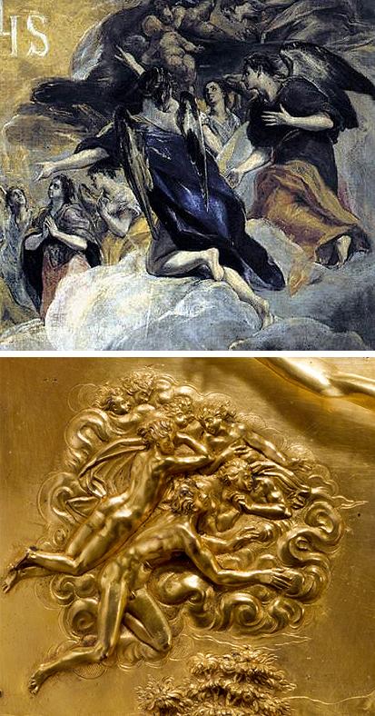 03 Greco _ Adoration Name of Jesus _ Guglielmo della Porta _ Mount Calvary