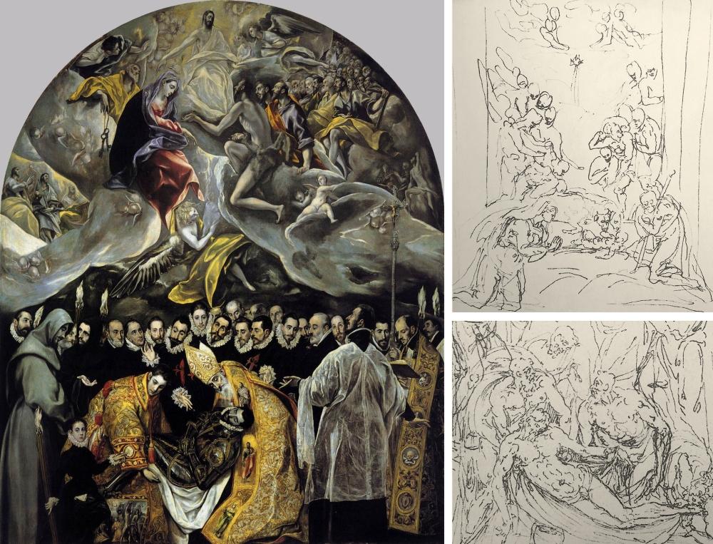 06 El Greco _ Burial Orgaz 01
