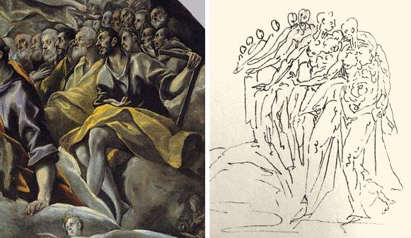 07 El Greco _ Burial Orgaz 02