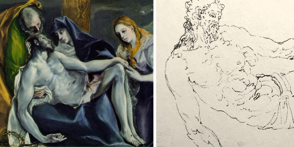08 El Greco _ Roman Period _ Guglielmo Della Porta _ compare 04b