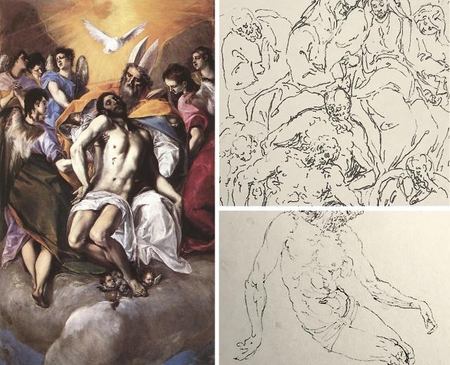 08 El Greco Holy Trinity _ Guglielmo della Porta