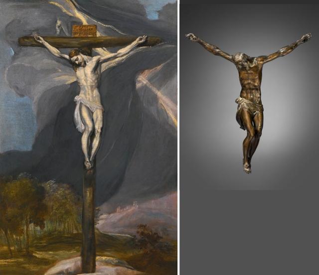 12 El Greco _ Roman Crucifixion after Guglielmo della Porta and Antonio Gentili da Faenza