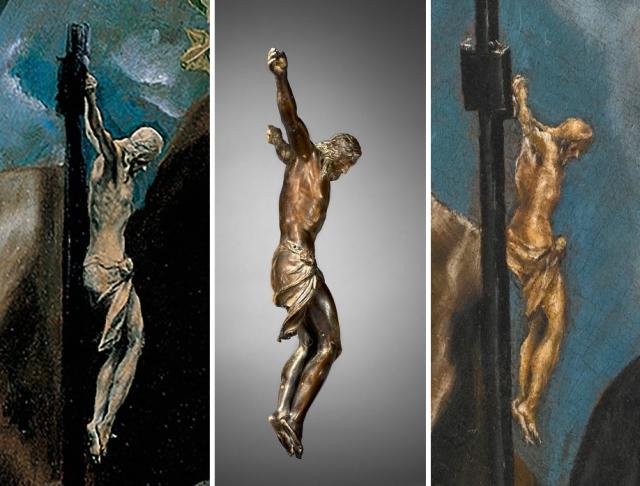 13 EL Greco _ Guglielmo della Porta _ Crucificado saints