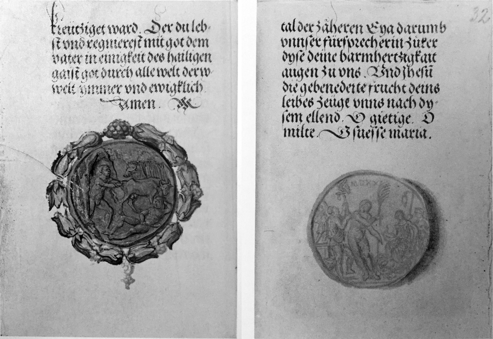 1521 Prayer boook of Matthaus Schwarz