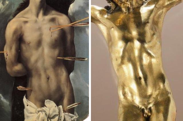 17 El Greco _ Sebastian _ Corpus Crucifix School of Sebastiano Torrigiani
