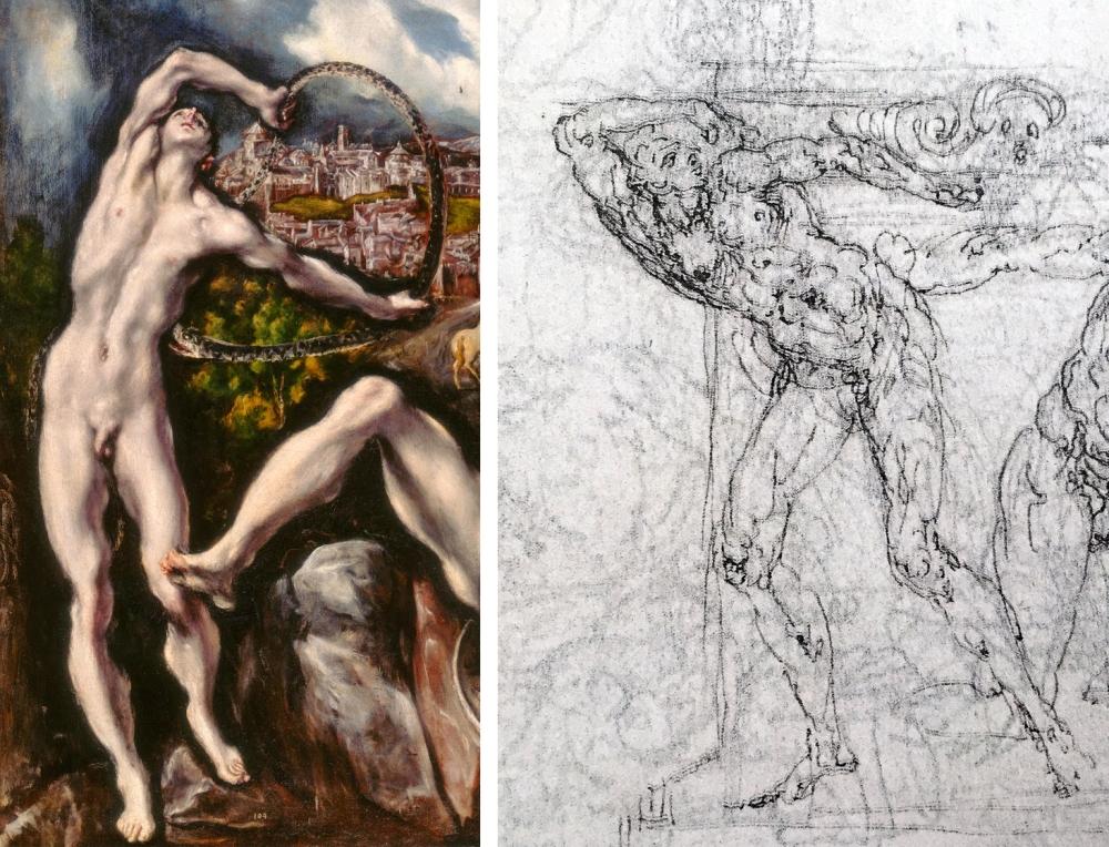 18 El Greco _ Roman Period _ Guglielmo Della Porta _ compare 03