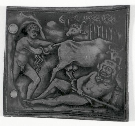 British Museum niello _ Hercules Cacus