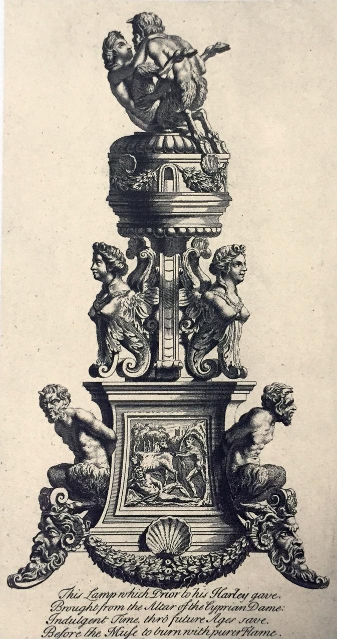 Engraving of a perfume burner probably by Desiderio da Firenze _ Padua _ ca 1530-40 b