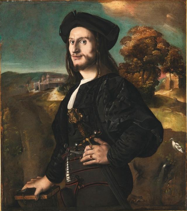 xxx_Amico Friulano del Dosso _ Portrait of a Man _ IOFF sword pommel