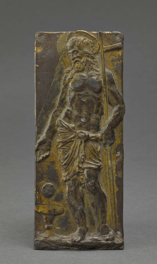 Possibly Bartolomeo Bellano or Circle Late 15th century Tabernacolo rilievi Louvre Renaissance plaquette