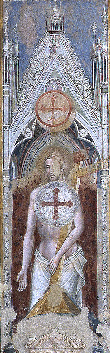 Spinello Aretino fresco San Francesco in Arezzo