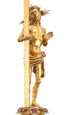 Gold Christ Vagnucci Reliquary Cathedral Cortona Gusto di Firenze